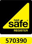 Gas Safe Registered 570390